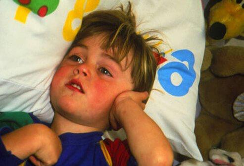 درد ناشی از عفونت گوش کودکان