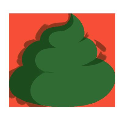 عکس تغییر رنگ مدفوع نوزاد به رنگ سبز تیره
