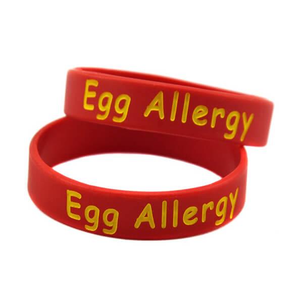 دست بند آلرژی به تخم مرغ در کودکان