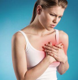 درد و سفت شدن سینه در دوران شیردهی